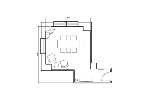 16 Court Street, 7th Floor, Suite 711, Room 1 #8
