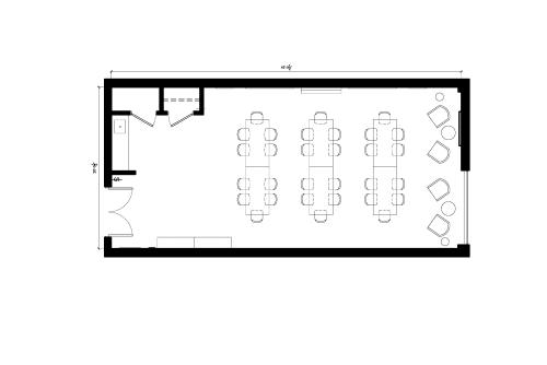 Floor-plan of 171 East Liberty St., 2nd Floor, Suite 262