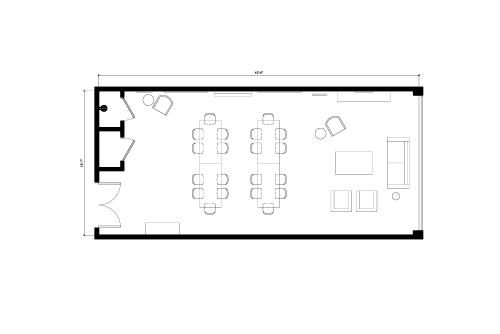 Floor-plan of 171 East Liberty St., 2nd Floor, Suite 264