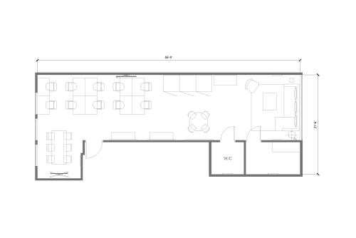 Office space located at 171 Newbury Street, 3rd Floor, #9
