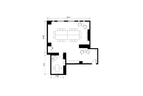 Floor-plan of 180 Canal Street, 3rd Floor