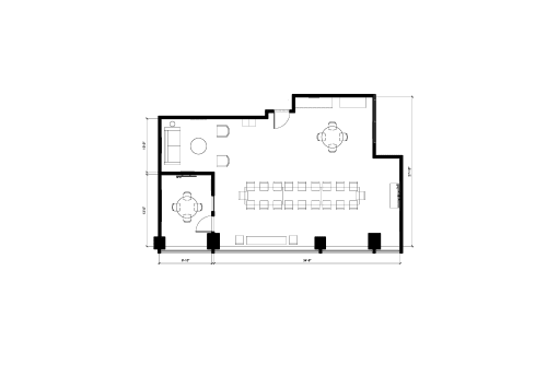 Floor-plan of 181 University Ave., 14th Floor, Suite 1402