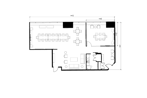 Floor-plan of 2 Bloor St. East, 3rd Floor, Suite 310