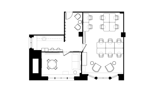 Floor-plan of 215 Park Avenue South, 20th Floor, Suite 2010