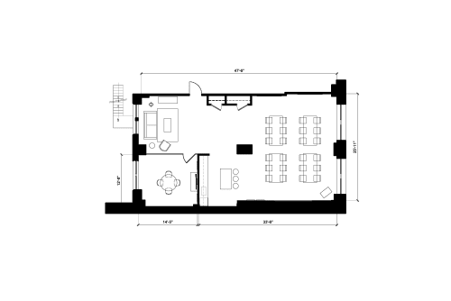 Floor-plan of 220 5th Avenue, 3rd Floor, Suite 303
