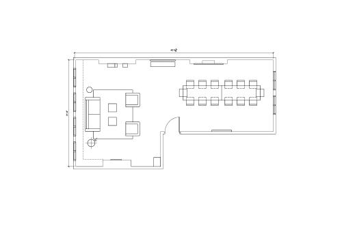 Floor-plan of 25 Newman Street, Fitzrovia, 25 Newman Street, Fitzrovia, 1st Floor