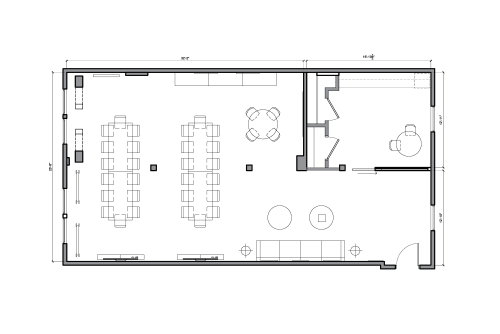 Floor-plan of 251 Post St., 6th Floor, Suite 620