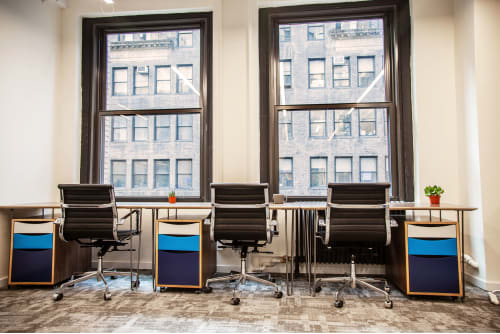 Office space located at 26 Broadway, 3rd Floor, Room 3 Person Office, #1