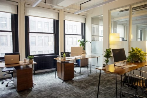 Office space located at 26 Broadway, 3rd Floor, Room 5 Person Office, #1