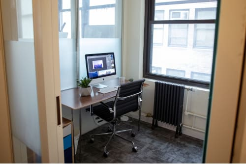 Office space located at 26 Broadway, 8th Floor, Room 1 Person Office, #1