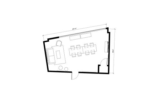 Floor-plan of 262 Washington Street, 4th Floor, Suite 402, Room 2