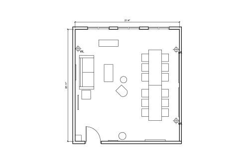 Floor-plan of 26 Broadway, 9th Floor, Suite 963-1