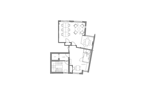 Floor-plan of 27 Provost Street, Shoreditch, #2, 27 Provost Street, Shoreditch, 2nd Floor, Room 2