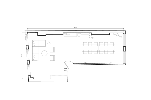 Floor-plan of 29 Charlotte Road, Shoreditch, 29 Charlotte Road, Shoreditch, 2nd Floor