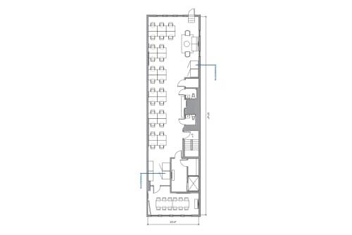 Floor-plan of 29 West 17th Street, 10th Floor