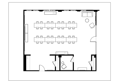 Floor-plan of 295 Madison Avenue, 14th Floor, Suite 1401