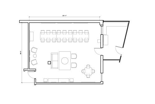 Floor-plan of 312 Venice Way, 1st Floor