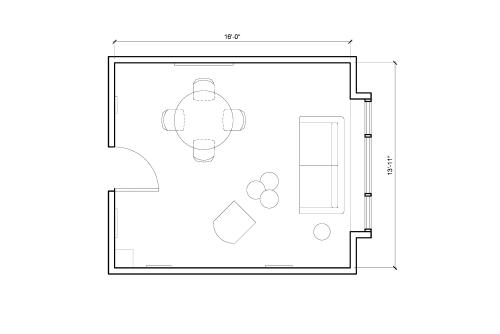 Floor-plan of 33 Broad Street, 8th Floor