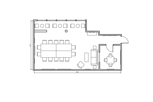 Floor-plan of 350 Townsend St., 3rd Floor, Suite 320