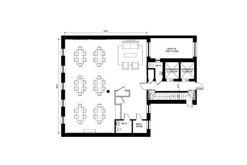 Floor-plan of 37 East 28th Street, 2nd Floor, Suite 206, Room 4