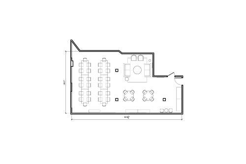 Floor-plan of 374 Congress Street, 3rd Floor, Suite 307