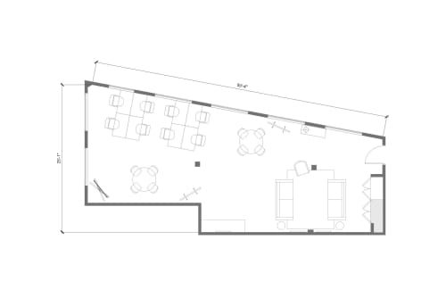 Floor-plan of 374 Congress Street, 5th Floor, Suite 500