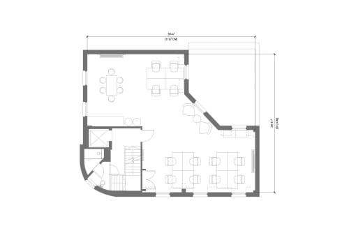 Floor-plan of 38 Rosebery Avenue, Clerkenwell, 3rd Floor, Room 3