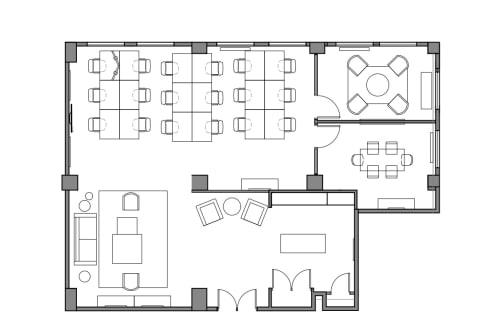 Floor-plan of 401 Broadway, 11th Floor, Suite 1108