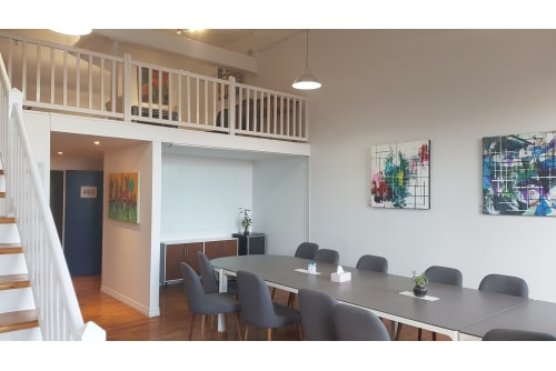 Office space located at 4020 Rue Saint-Ambroise, 4th Floor, Suite 493, #4