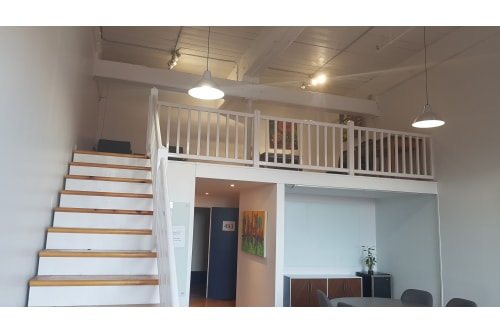 Office space located at 4020 Rue Saint-Ambroise, 4th Floor, Suite 493, #7