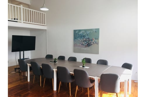 Office space located at 4020 Rue Saint-Ambroise, 4th Floor, Suite 493, #2