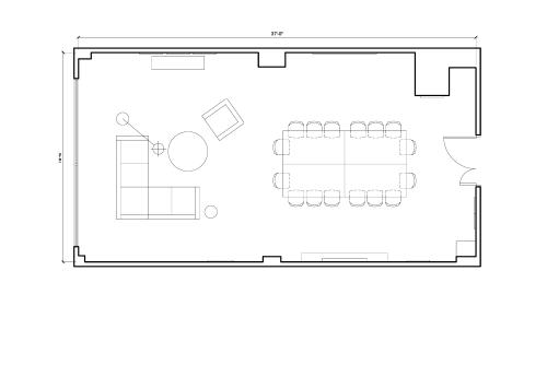 Floor-plan of 4398 Boulevard St-Laurent, 3rd Floor, Suite 306