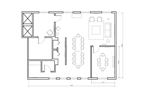 Floor-plan of 45 Bromfield Street, 10th Floor