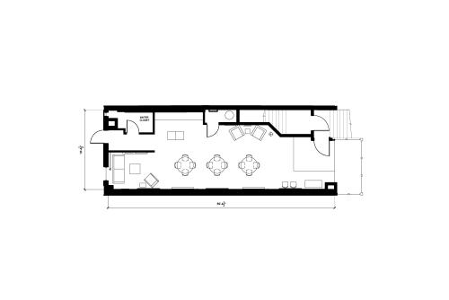 Floor-plan of 45 West 28th Street, 2nd Floor