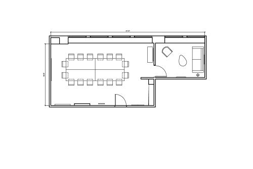 Floor-plan of 465 California St., 12th Floor, Suite 1290