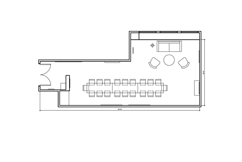 Floor-plan of 465 California St., 3rd Floor, Suite 310