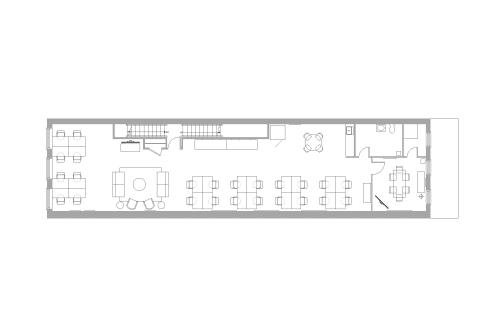 Floor-plan of 494 Broadway, 2nd Floor