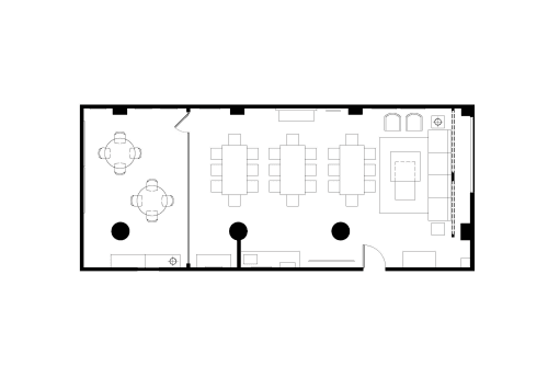 Floor-plan of 51 Federal St., 2nd Floor, Suite 207