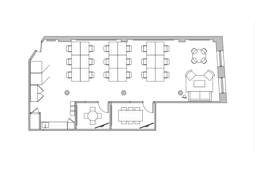 Floor-plan of 594 Broadway, 11th Floor, Suite 1106