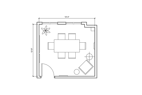 Floor-plan of 648 Broadway, 9th Floor, Suite 907