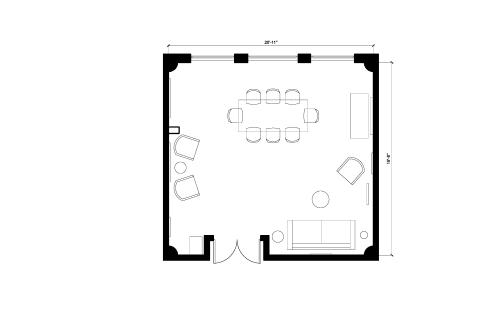 Floor-plan of 650 5th St., 4th Floor, Suite 401