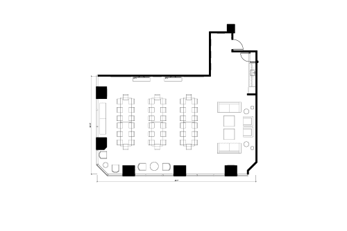 Floor-plan of 725 S. Figueroa St., 10th Floor, Suite 1010