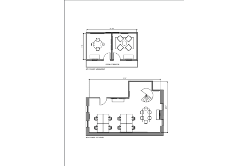Floor-plan of 87 Wendell Street, 4th Floor, Room 2