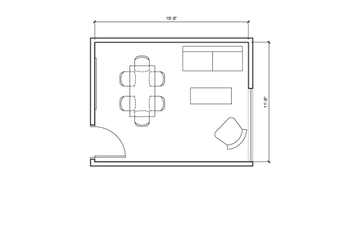 Floor-plan of 350 Townsend St., 3rd Floor, Suite 309