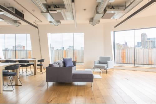Office space located at 80 Clerkenwell Road, Clerkenwell, 5th Floor, Room The Penthouse, #7