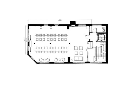 Floor-plan of 15 Crinan Street, Kings Cross, 3rd Floor