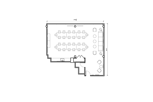 Floor-plan of 1201 Connecticut Ave. NW, 9th Floor, Suite 904