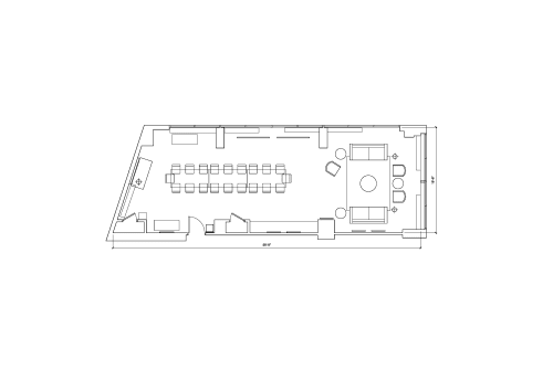 Floor-plan of 1901 Pennsylvania Ave. NW, 8th Floor, Suite 805, Room A