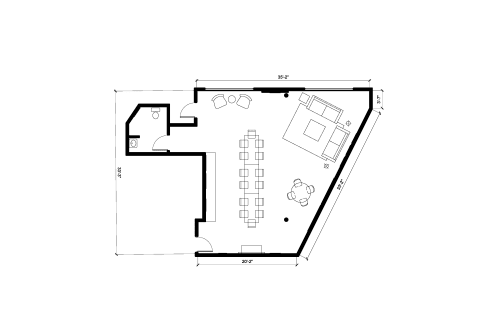 Floor-plan of 320 Lincoln Blvd., 1st Floor, Suite 120