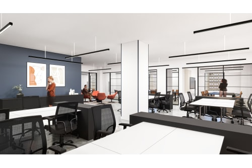 Office space located at Coming Soon: 1450 Broadway, 23rd Floor, #1